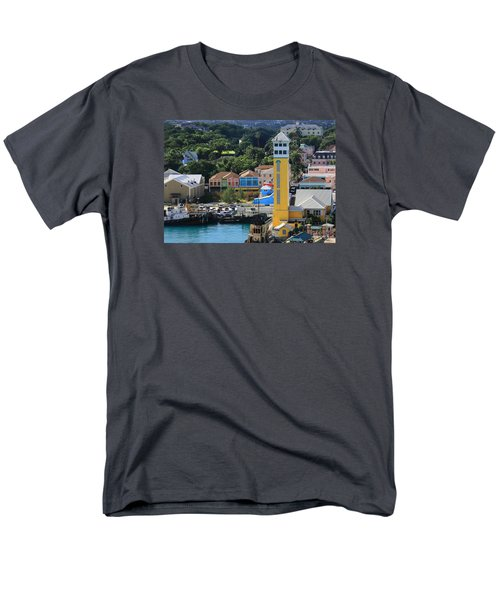 Men's T-Shirt  (Regular Fit) featuring the photograph Nassau Bahamas by Coby Cooper