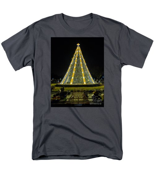 National Christmas Tree #2 Men's T-Shirt  (Regular Fit) by Sandy Molinaro