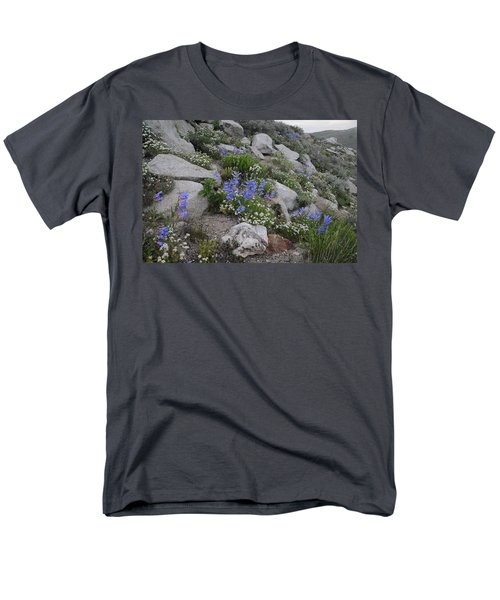 Men's T-Shirt  (Regular Fit) featuring the photograph Natural Garden by Jenessa Rahn