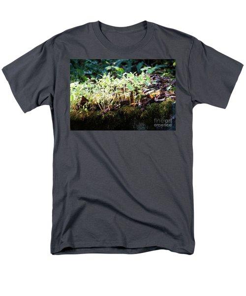 Nature Finds A Way Men's T-Shirt  (Regular Fit) by Rebecca Davis
