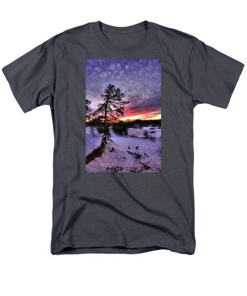 Nature Reserve Snowset Men's T-Shirt  (Regular Fit) by John Loreaux