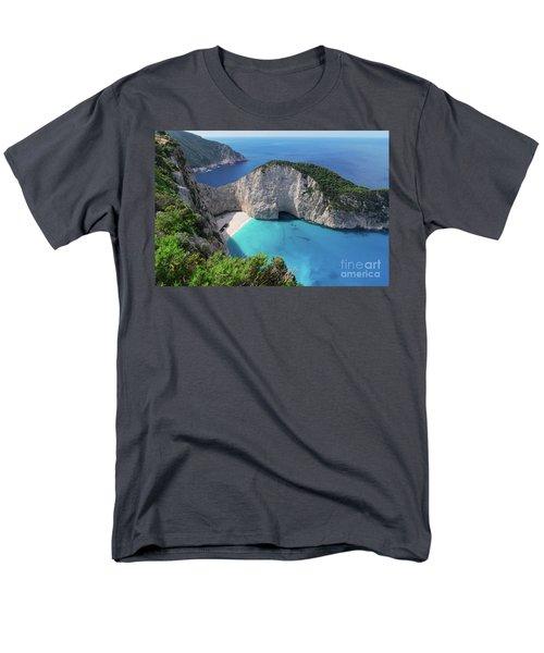 Navagio Beach Men's T-Shirt  (Regular Fit) by Anastasy Yarmolovich