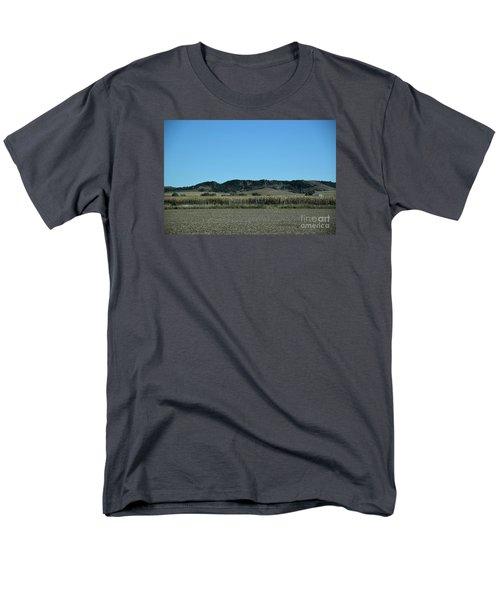 Men's T-Shirt  (Regular Fit) featuring the photograph Nebraska Corn Field by Mark McReynolds