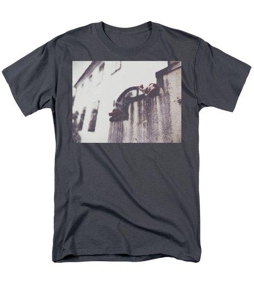 Neighbors Cats Men's T-Shirt  (Regular Fit) by Siegfried Ferlin