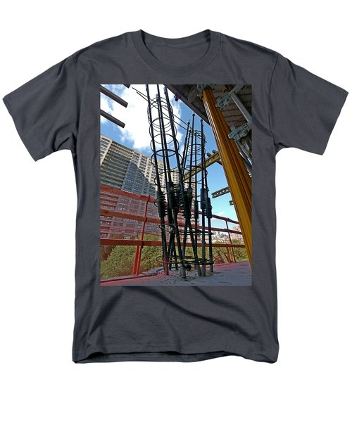 Neuvo Rebar Men's T-Shirt  (Regular Fit) by Steve Sahm