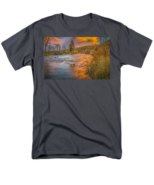 Nevada Gold  Men's T-Shirt  (Regular Fit) by Scott McGuire
