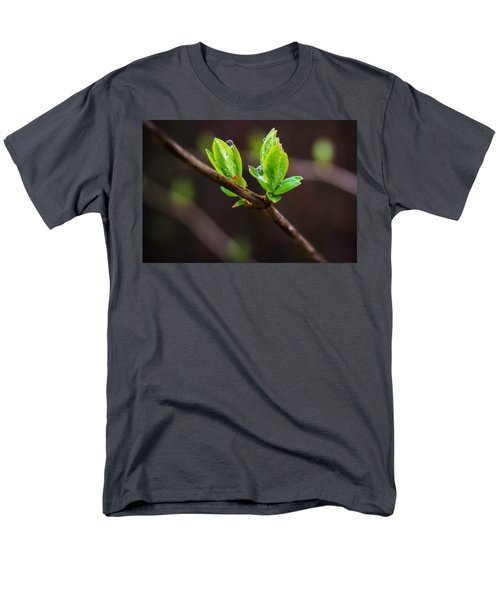New Growth In The Rain Men's T-Shirt  (Regular Fit)