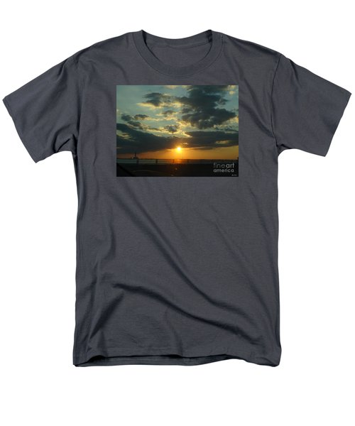 Men's T-Shirt  (Regular Fit) featuring the photograph New Horizon by Lyric Lucas