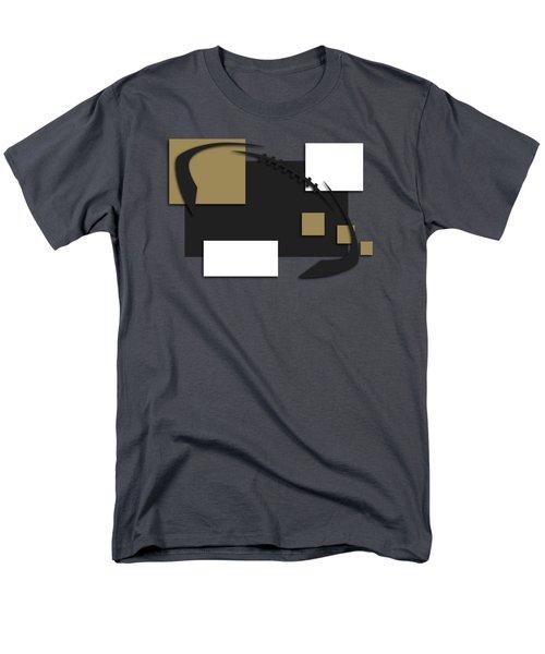 New Orleans Saints Abstract Shirt Men's T-Shirt  (Regular Fit) by Joe Hamilton