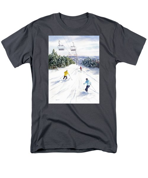 New Snow Men's T-Shirt  (Regular Fit) by Vikki Bouffard