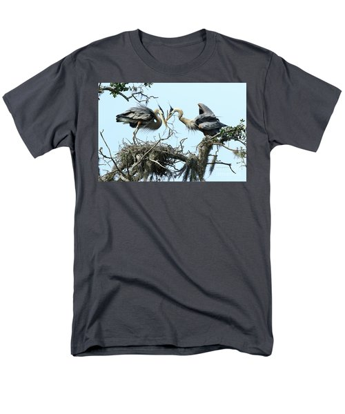 Men's T-Shirt  (Regular Fit) featuring the photograph New Twig by Deborah Benoit