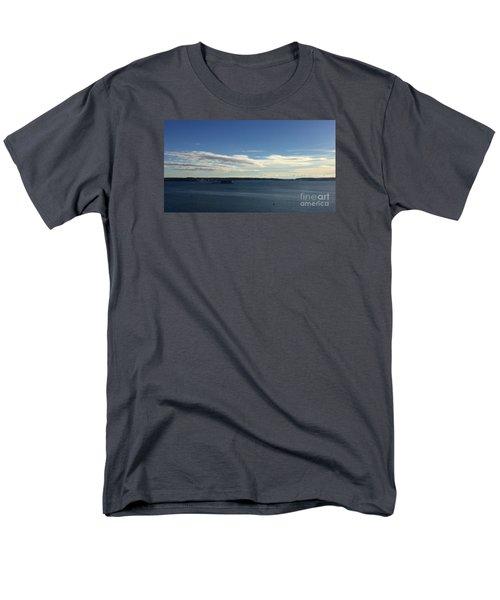 New Year's Day 2016 On Casco Bay, Portland, Maine Men's T-Shirt  (Regular Fit)