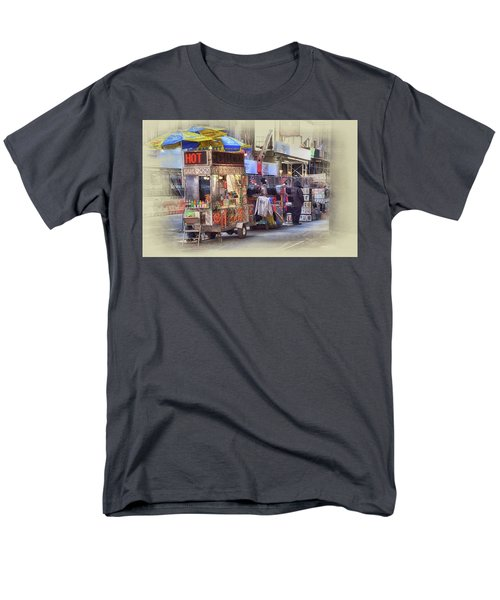 New York City Vendor Men's T-Shirt  (Regular Fit) by Dyle Warren
