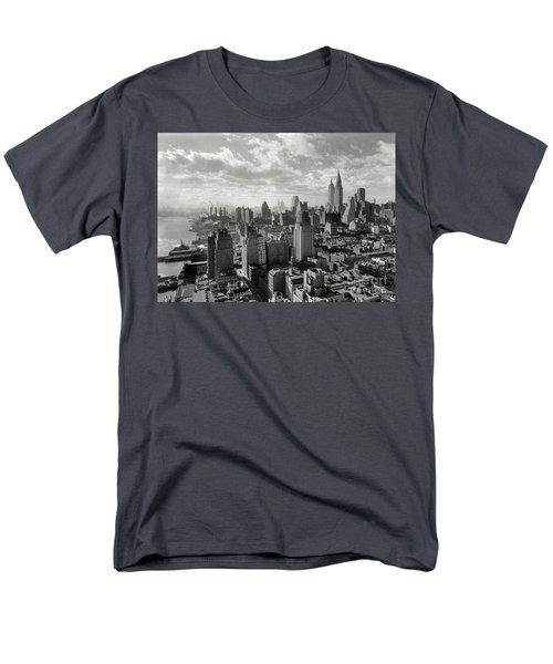 New Your City Skyline Men's T-Shirt  (Regular Fit) by Jon Neidert