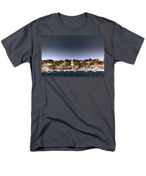 Men's T-Shirt  (Regular Fit) featuring the photograph Newport by Tom Prendergast