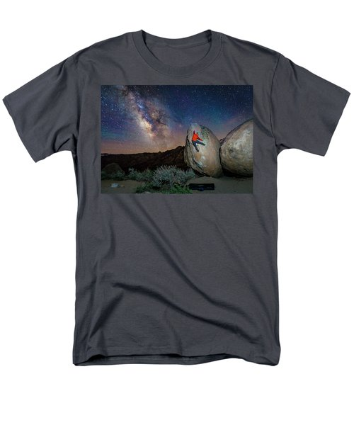 Night Bouldering Men's T-Shirt  (Regular Fit) by Evgeny Vasenev