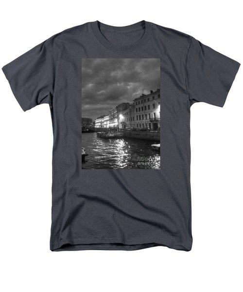 Night City Peterburg Men's T-Shirt  (Regular Fit) by Yury Bashkin