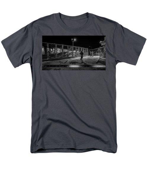 Night Commute  Men's T-Shirt  (Regular Fit) by Jeffrey Friedkin