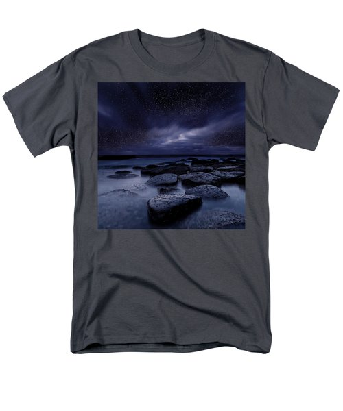 Night Enigma Men's T-Shirt  (Regular Fit) by Jorge Maia