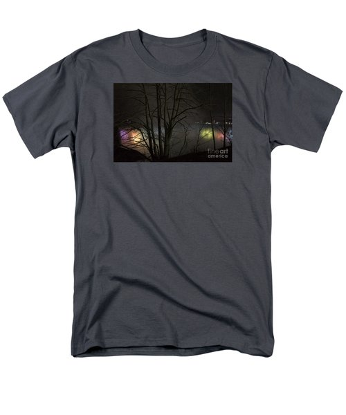 Men's T-Shirt  (Regular Fit) featuring the photograph Night Falls by Judy Wolinsky