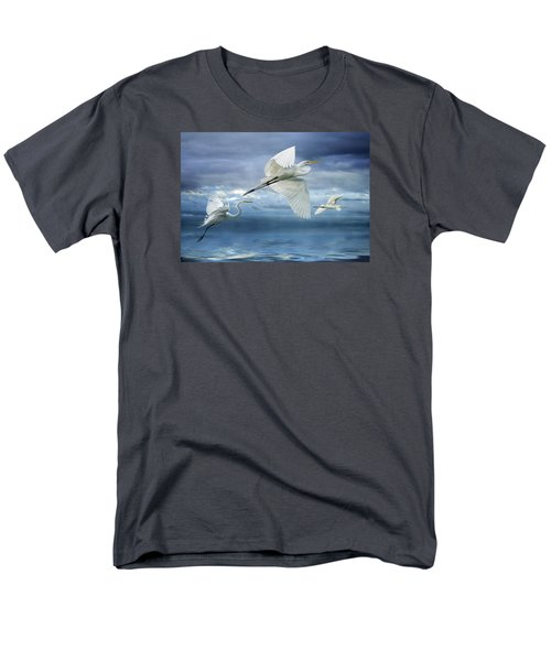Men's T-Shirt  (Regular Fit) featuring the photograph Night Flight by Brian Tarr