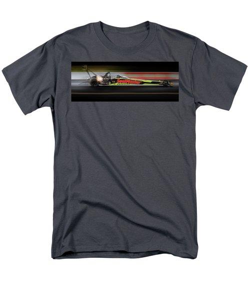 Men's T-Shirt  (Regular Fit) featuring the digital art Night Flight by Peter Chilelli