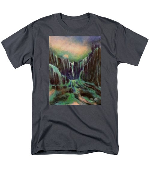 Night Of The Fall  Men's T-Shirt  (Regular Fit) by Alison Caltrider