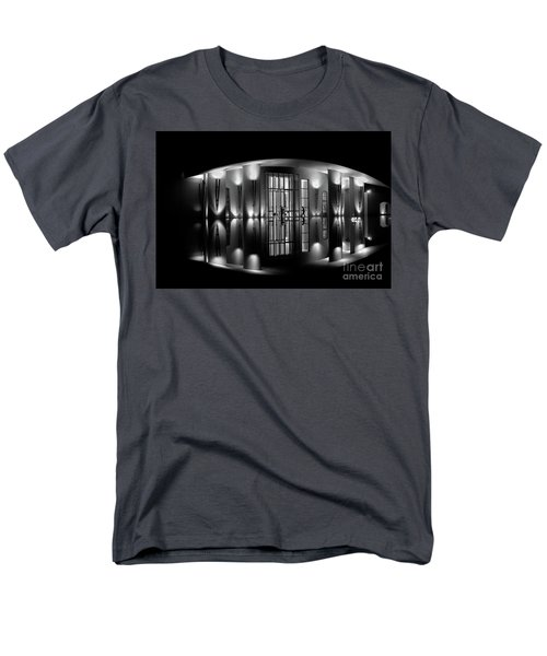 Night Reflection Men's T-Shirt  (Regular Fit)