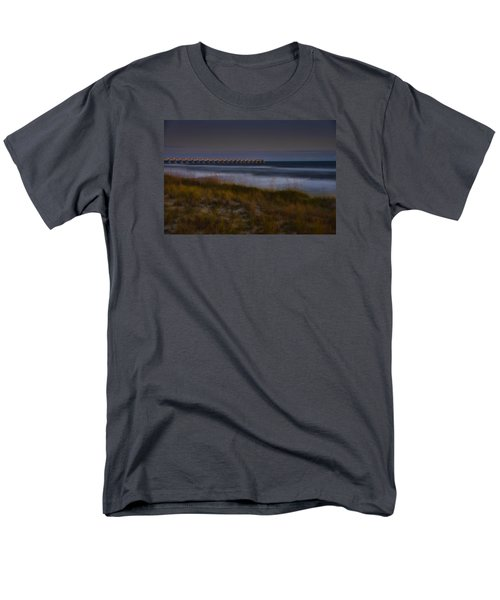 Men's T-Shirt  (Regular Fit) featuring the photograph Nightlife By The Sea by Renee Hardison