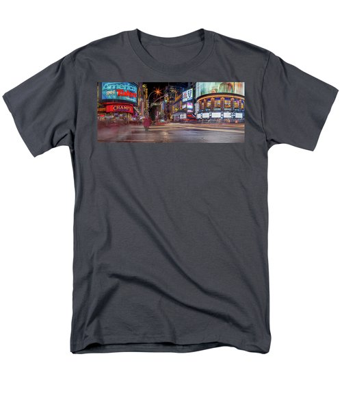 Men's T-Shirt  (Regular Fit) featuring the photograph Nights On Broadway by Az Jackson