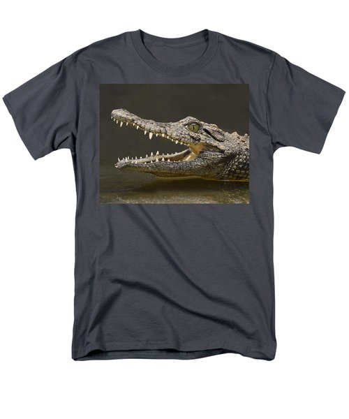 Nile Crocodile Men's T-Shirt  (Regular Fit) by Tony Beck