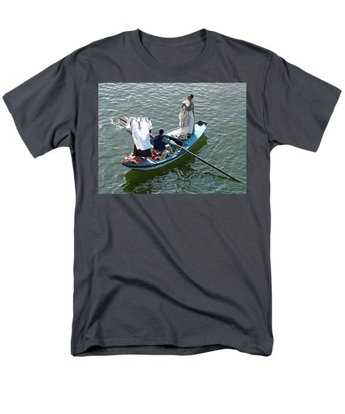 Nile River Merchants Men's T-Shirt  (Regular Fit) by Joseph Hendrix