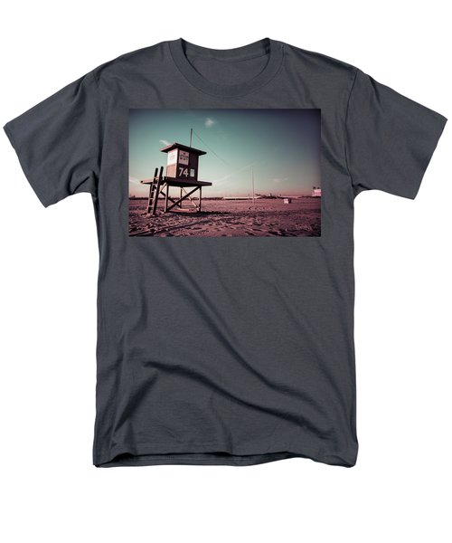 Men's T-Shirt  (Regular Fit) featuring the photograph No Lifeguard On Duty by Joseph Westrupp