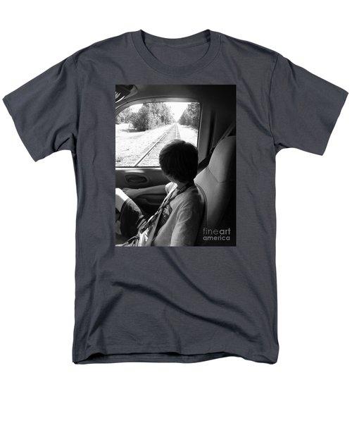No Train Coming Men's T-Shirt  (Regular Fit)
