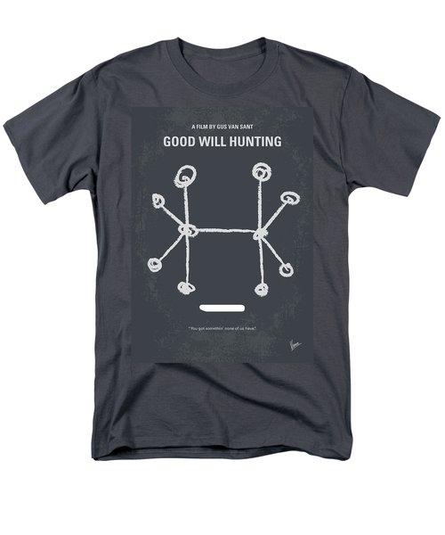 No461 My Good Will Hunting Minimal Movie Poster Men's T-Shirt  (Regular Fit) by Chungkong Art
