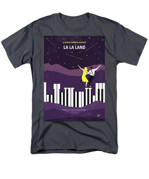 Men's T-Shirt  (Regular Fit) featuring the digital art No756 My La La Land Minimal Movie Poster by Chungkong Art