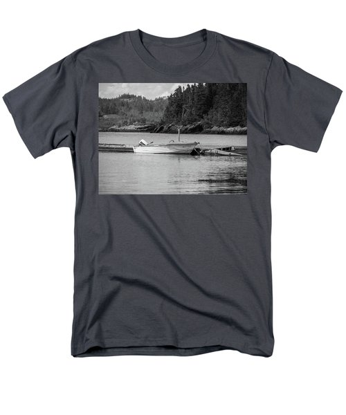 Men's T-Shirt  (Regular Fit) featuring the photograph Noca Scotia In Black And White  by Trace Kittrell