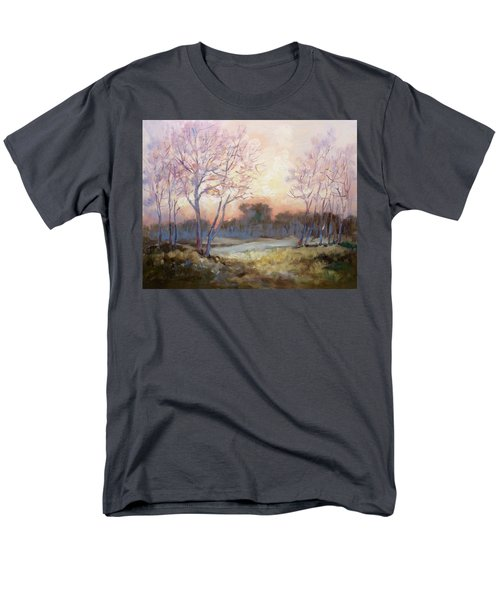 Nocturnal Landscape Men's T-Shirt  (Regular Fit) by Irek Szelag