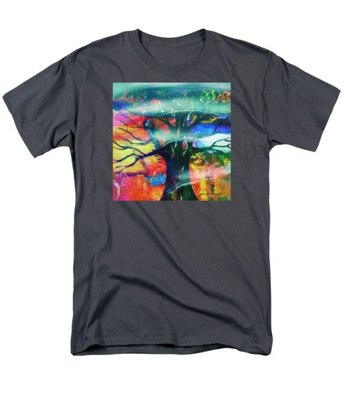 Men's T-Shirt  (Regular Fit) featuring the mixed media Noel by Fania Simon