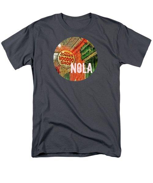 New Orleans Voodoo T Shirt Men's T-Shirt  (Regular Fit) by Valerie Reeves
