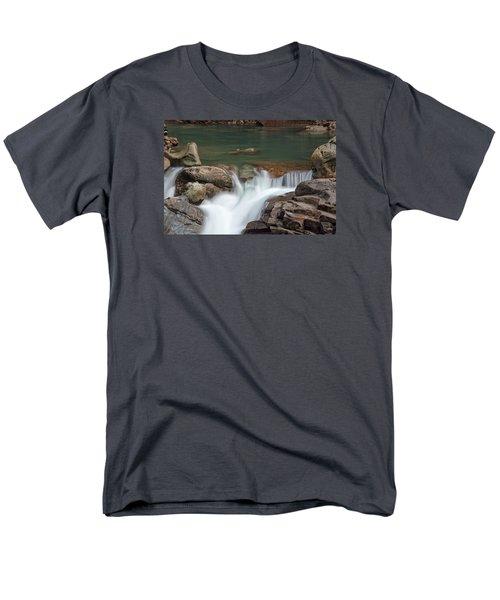 Nooksack Falls Men's T-Shirt  (Regular Fit) by Sabine Edrissi