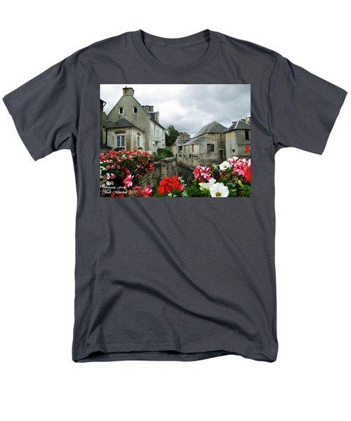 Normandy Arrival Men's T-Shirt  (Regular Fit) by Joan  Minchak