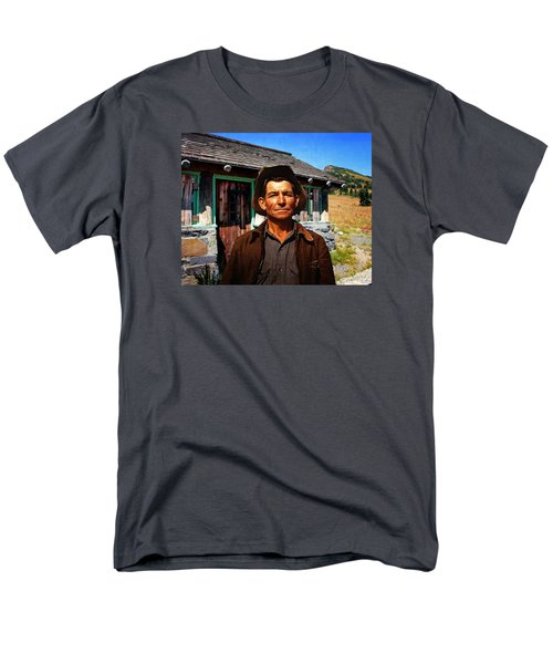 Men's T-Shirt  (Regular Fit) featuring the photograph Norris' New Digs by Timothy Bulone
