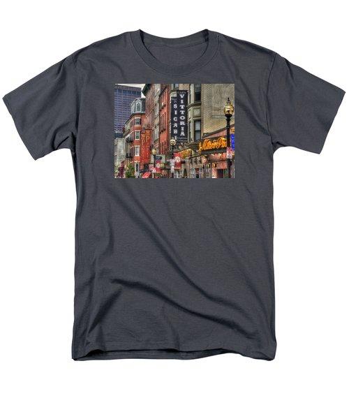 North End Charm 11x14 Men's T-Shirt  (Regular Fit) by Joann Vitali