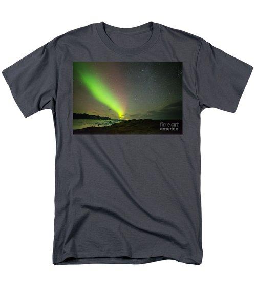 Men's T-Shirt  (Regular Fit) featuring the photograph Northern Lights 7 by Mariusz Czajkowski