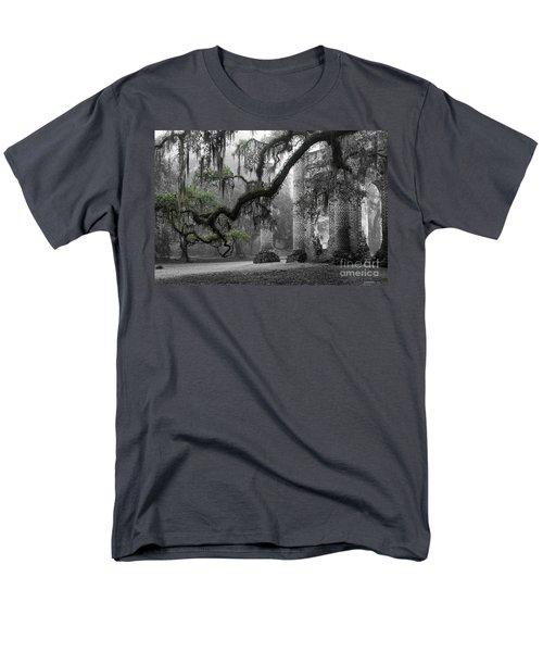 Oak Limb At Old Sheldon Church Men's T-Shirt  (Regular Fit)