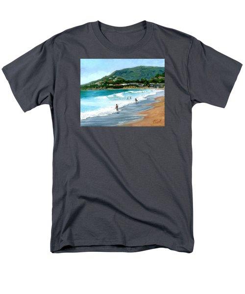 Oak Street Beach, Laguna Beach Men's T-Shirt  (Regular Fit)