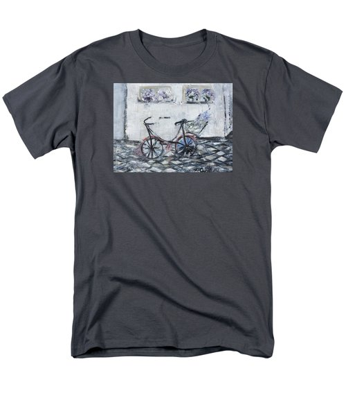 Oana's Bike Men's T-Shirt  (Regular Fit) by Evelina Popilian