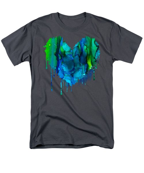 Men's T-Shirt  (Regular Fit) featuring the painting Ocean Depths by Nikki Marie Smith