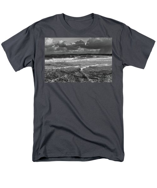 Men's T-Shirt  (Regular Fit) featuring the photograph Ocean Storms by Nicholas Burningham